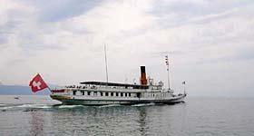 Les bateaux de la CGN