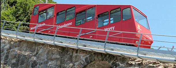 Le funiculaire Vevey-Mont-Pèlerin