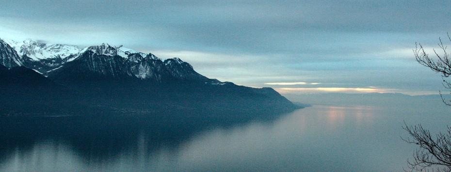 Un lac changeant et magique