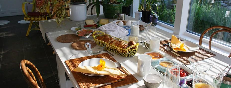 Un petit déjeuner gourmand